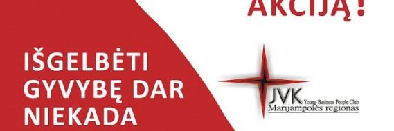 Kviečiame į kraujo donorystės akciją!